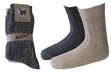 4 Paar Herren Alpaka Norweger Socken 40%Alpaka 60%Wolle