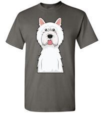 West Highland White Terrier Dog Cartoon T-Shirt Tee - Men Women Youth Tank Long