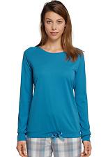 SCHIESSER Damen Mix & Relax Shirt Langarm T-Shirt Gr 36-44 S-XXL Schlafshirt