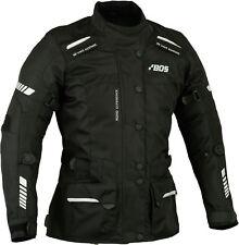 Femmes Moto Vélo Scooter 100% Imperméable Blouson Noir Taille XS-2XL