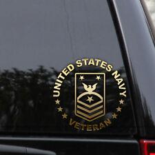 E-9 Command Master Chief Navy Decal Sticker Veteran Retired Car Window Laptop