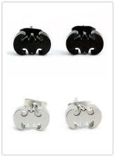 Super Cool Stainless Steel Batman Earrings
