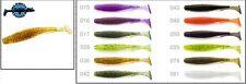 "9 leurres souples U-Shad 3"" FISHUP 70mm p��che perche chevesne blackbass sandre"