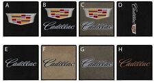 2015-2018 Cadillac Escalade Base Model 4 pc Floor Mats Set Tan Choose Logo