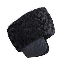 SANREMO Men's Winter Warm Imitation Persian lamb Russian Style Cossack Hat New