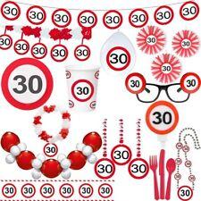 30. Anniversaire Panneaux De Signalisation Fête Déco Nombre Décoration