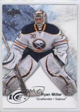 2011-12 Upper Deck Ice Premieres Multi-Product Insert Base #2 Ryan Miller Card