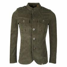 Pretty Green Crawley Cord Jacket Khaki