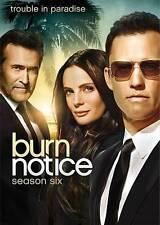 Burn Notice: Season Six 6 6th (DVD, 2013, 4-Disc Set) NEW