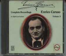 CD-ENRICO CARUSO-Complete Recordings vol. 3