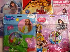 Disney Frozen, Princess, Peppa, Spiderman Gonfiabile Pig MEGA TAP BALL (30 cm)