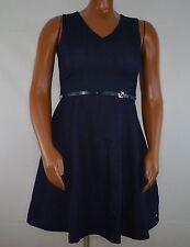 NWT Tommy Hilfiger Women's Sleeveless Denim Dress V-Neck w Belt Stretch Size 6 8