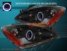 2004-2006 MITSUBISHI LANCER PROJECTOR HEADLIGHTS ONE HALO CCFL