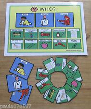 Besoins spéciaux cartes d'apprentissage ~ ~ d'apprentissage quotidienne pour cartes de couleurs ~ ~ ~ Autism SEN