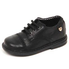 E1534 scarpa bimba nero TWIN-SET SIMONA BARBIERI leather shoe kid girl