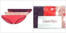 3 X CALVIN KLEIN Women's Bikini Briefs CK Underwear L/Large 30-32 inch