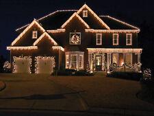 Natale All'aperto NEVICANDO Luci LED Bianco Ghiacciolo 180 a 600