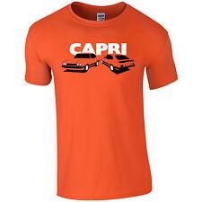 Capri doble imagen Mens t-shirt Ford inspirado regalo para papá, tío, hermano