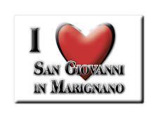 CALAMITA EMILIA ROMAGNA MAGNETE SOUVENIR I LOVE SAN GIOVANNI IN MARIGNANO (RN)