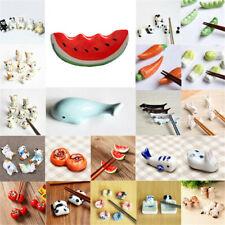 A Lots Funny Ceramic Animals Chopsticks Stand Spoon Fork Knife Holder Rest