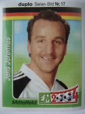 duplo/hanuta EM 2004 # Deutschland DFB Jens Jeremies # 17
