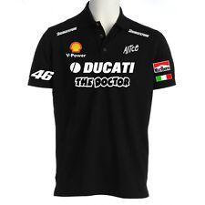 POLO DUCATI THE DOCTOR VALENTINO ROSSI maglietta t-shirt felpa moto gp guzzi NE