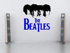 La silueta de los Beatles-Grande Vinilo Calcomanías de Pared Calcomanía Decoración para Alta Calidad Nuevo