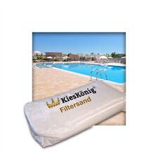 25 kg Filtersand für Poolfilteranlagen Sandfilteranlage Quarzsand