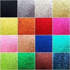 Hojas de tela brillo Grueso A4 algodón/cuero, pelo Arcos, elaboración de tarjetas