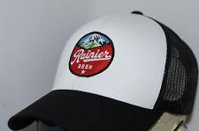 Rainier Beer Hat Trucker Mesh Olympia Vintage Logo Washington PBR Tumwater Shirt