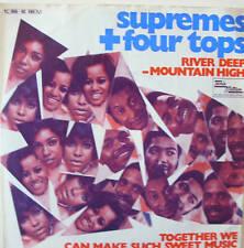 "7"" SUPREMES + FOUR TOPS : River Deep Mountain High"