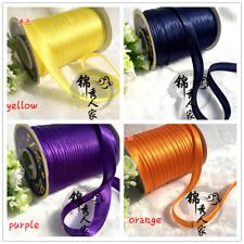 Satin Edge Bias Binding Tape Roll Sewing Trim Ribbon DIY Material Cloth Home Red