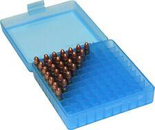 Ammo Bullet Case Box Storage 100 Count MTM P-100-24 22 LR -Long Rifle 100 Round
