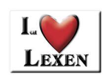DEUTSCHLAND SOUVENIR - BAYERN MAGNET LEXEN (BAD TÖLZ WOLFRATSHAUSEN)
