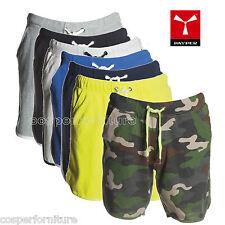Bermuda uomo short pantaloncino corsa verde mimetico giallo fluo Payper Combat