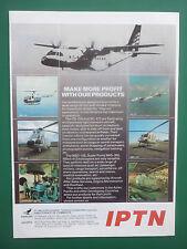 5/1991 PUB IPTN CN-235 NC-212 SUPER PUMA NAS-332 NBO-105 NBELL-412 INDONESIA AD