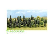 * Busch N/Z 6589 30 alberi abeti alberelli vari  per plastico o diorama scala N