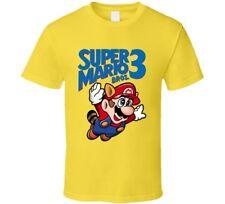 Super Mario Bros. 3 Retro Nes Box Art Video Game T Shirt