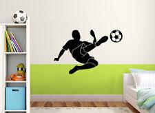 Wandtattoo Wansticker Wandaufkleber Kinderzimmer Fußball Fußballer Spieler W5033