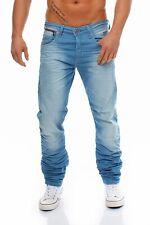 JACK & JONES - NICK LAB - Light Blue - Regular Fit - Blau Herren Jeans Hose