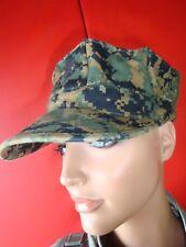 Orig USMC Garrison Patrol Cap Marpat Woodland Camoflage Marines Mütze Hut US