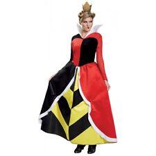 Queen of Hearts Deluxe Costume Alice In Wonderland Halloween Fancy Dress