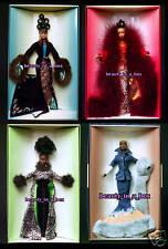 Plum Royale Indigo Obsession Limelight Cinnabar Runway Lars Barbie Doll Lot 4