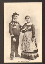 SCAER (29) COSTUMES de Marié & Mariée