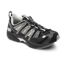 Dr Comfort Orthotic Mens Atheltic Shoe Performance Wide Fit Black/Grey