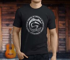 New Cartel de Santa Mexican Rap Hip Hop Band Men's Black T-Shirt Size S-3XL