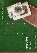 GROS & DELETTREZ HERMES Vintage Handbags Kelly Birkin Auction Catalog 2010