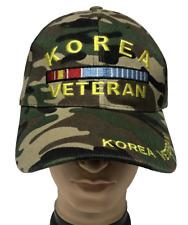 KOREA VETERAN Embroidered Adjustable Curved Visor Baseball Cap Hat LOT Wholesale