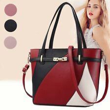 Women Faux Leather Crossbody Shoulder Handbags Messenger Tote Bag Satchel Purse