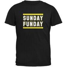 Sunday Funday Pittsburgh Black Adult T-Shirt